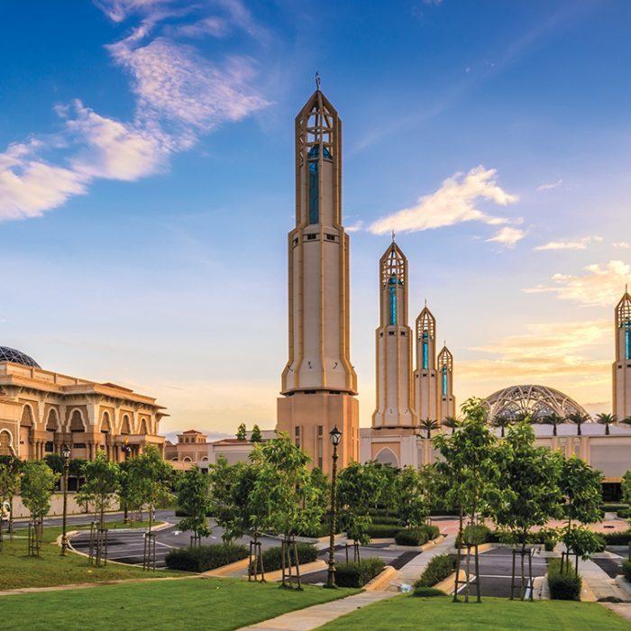 Johor Islamic Architecture Mosque