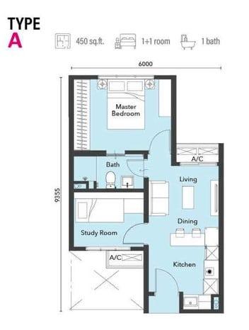 121 Residences Type A