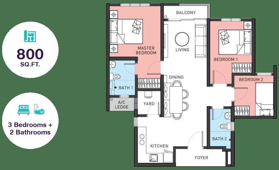 Sky Awani 4 Floor Plan