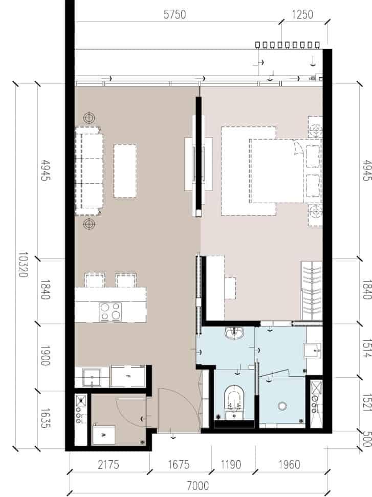 Anggun Residences B / B1型