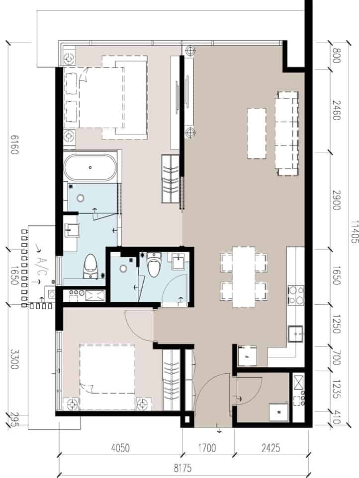 Anggun Residences C / C1型