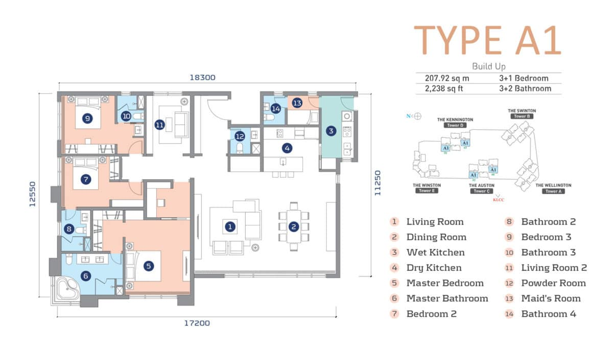 D'Rapport Residence Type A1