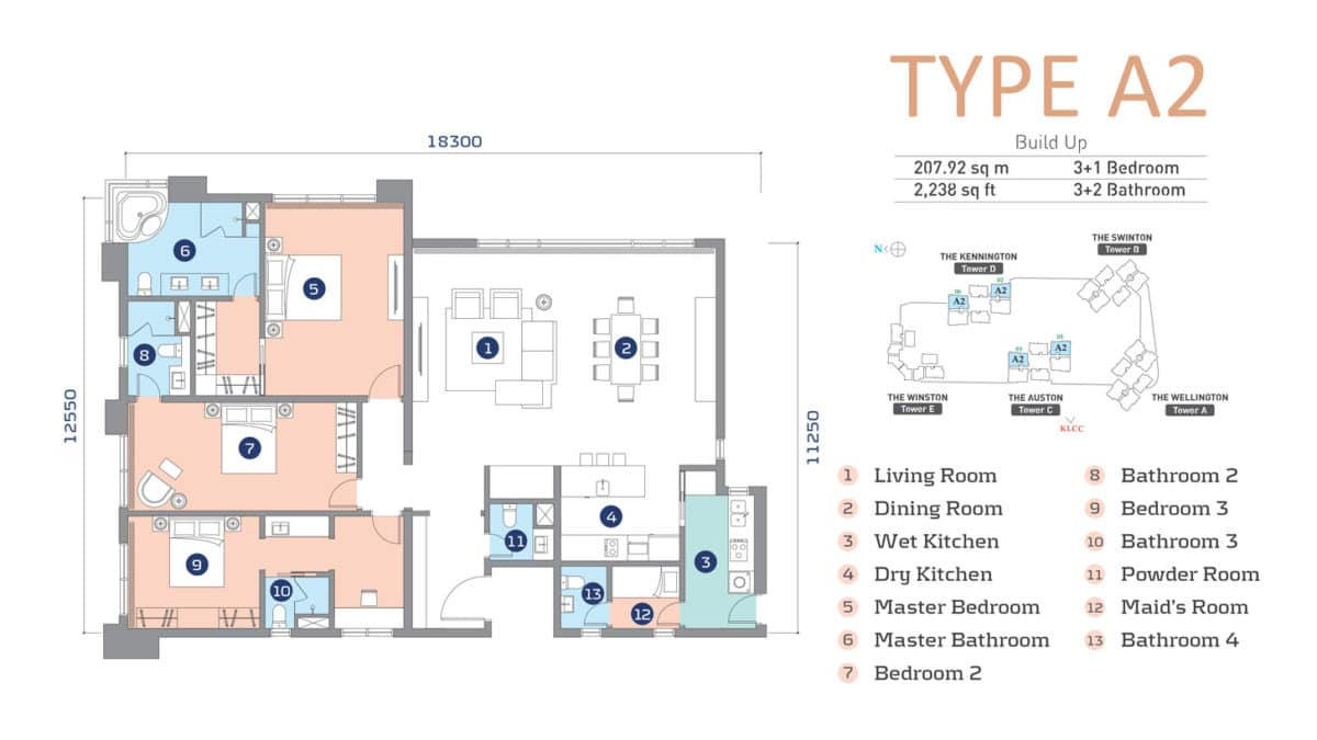D'Rapport Residence Type A2