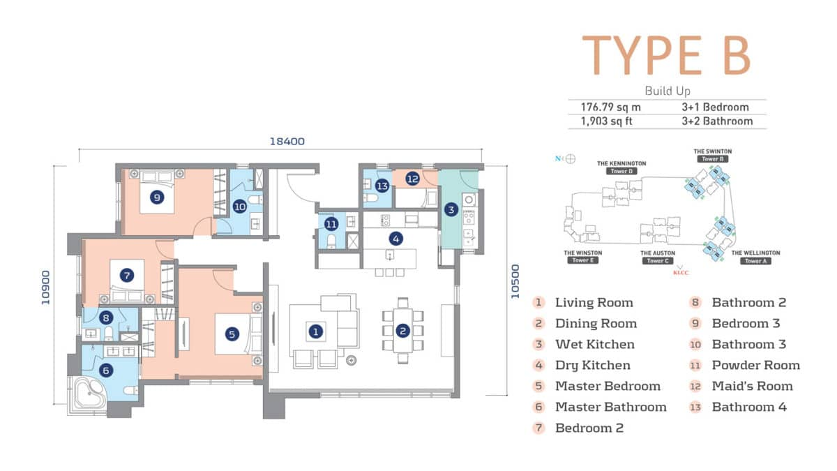 D'Rapport Residence Type B