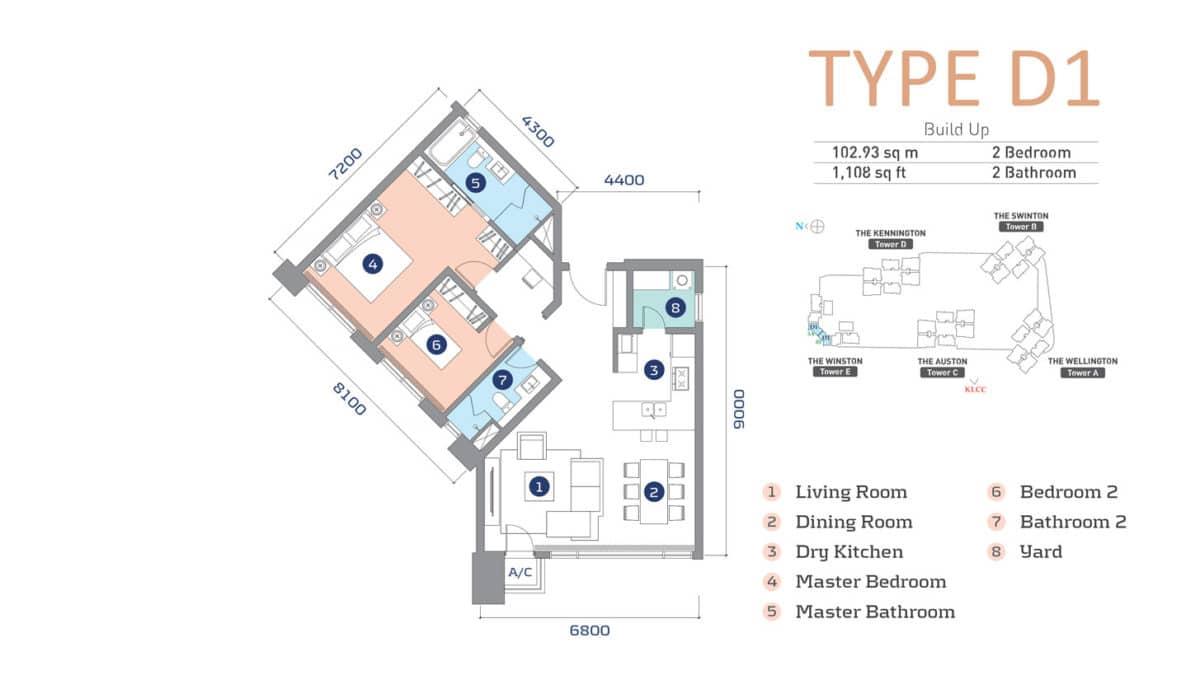 D'Rapport Residence Type D1