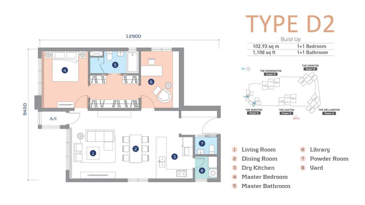 D'Rapport Residence Type D2
