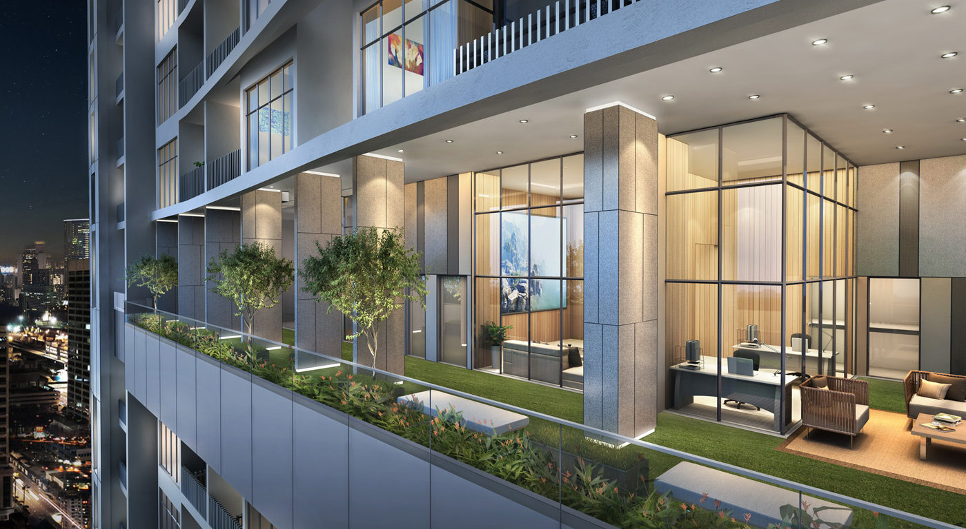 The Luxe by Infinitum Facade Close