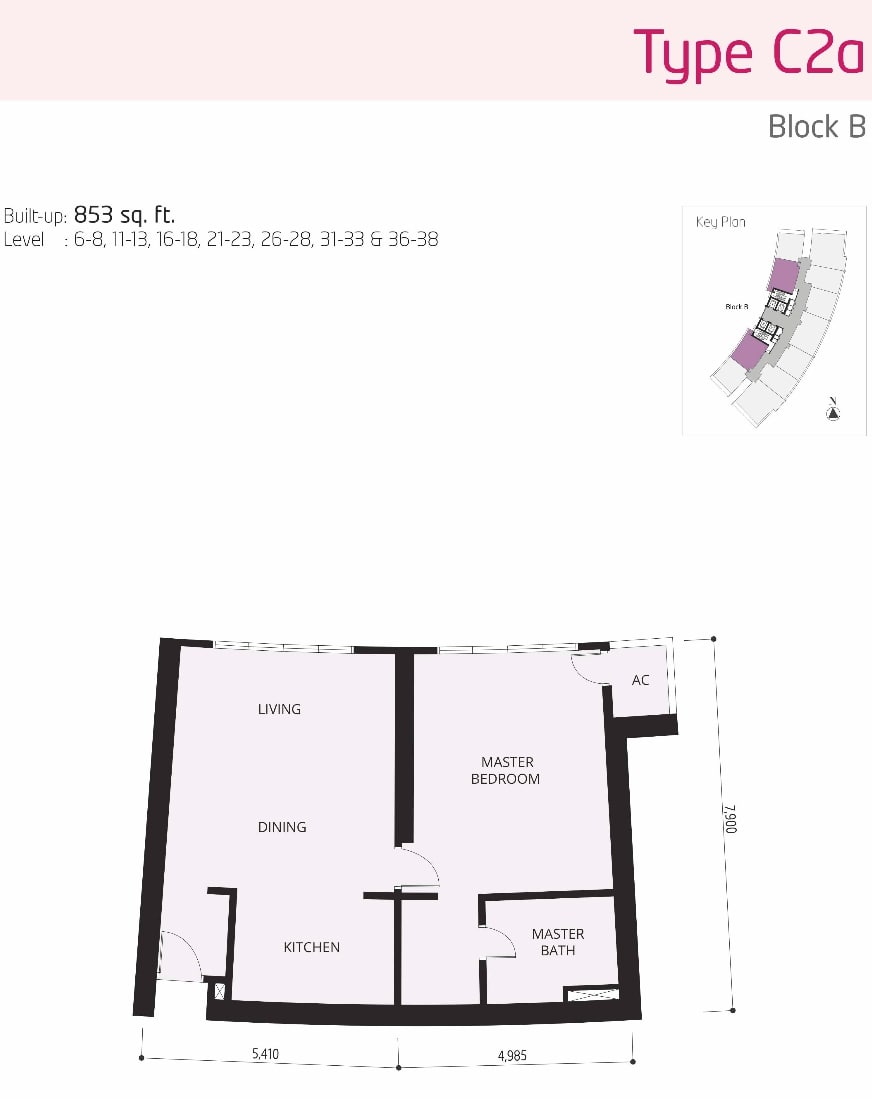 The OOAK Kiara 163 Floor Plan Type C2a