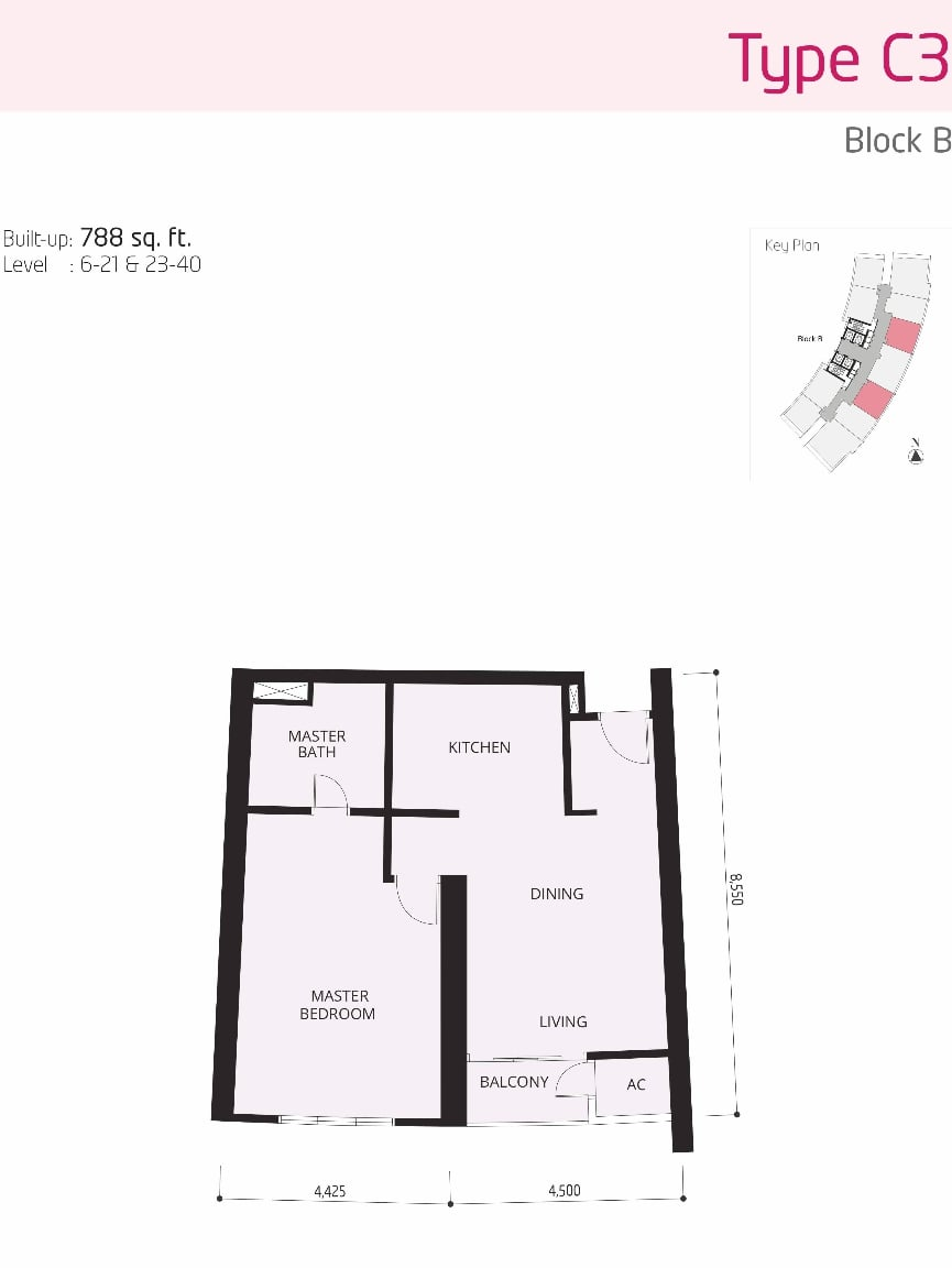 The OOAK Kiara 163 Floor Plan Type C3