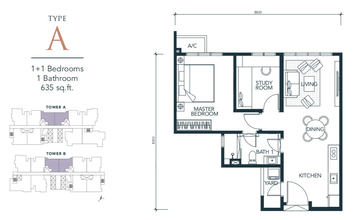 Sunway Velocity TWO Floor Plan Type A