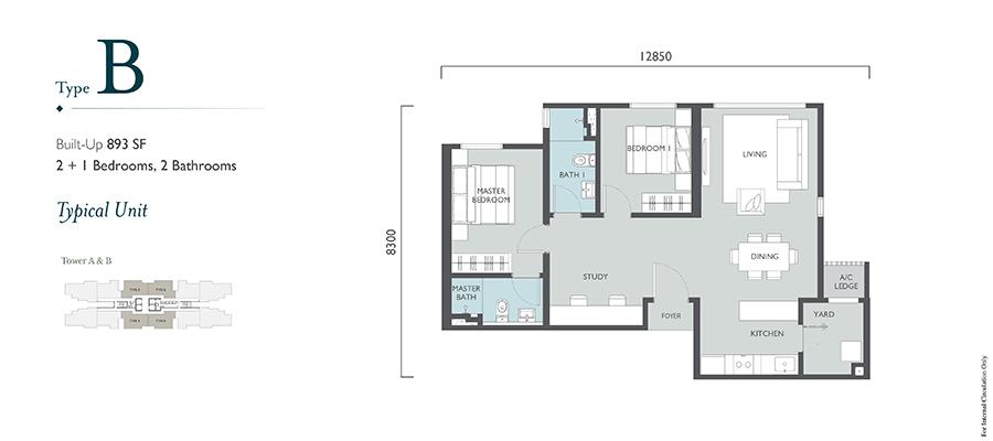 Emerald Hills Floor Plan Type B