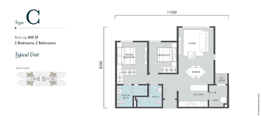 Emerald Hills Floor Plan Type C