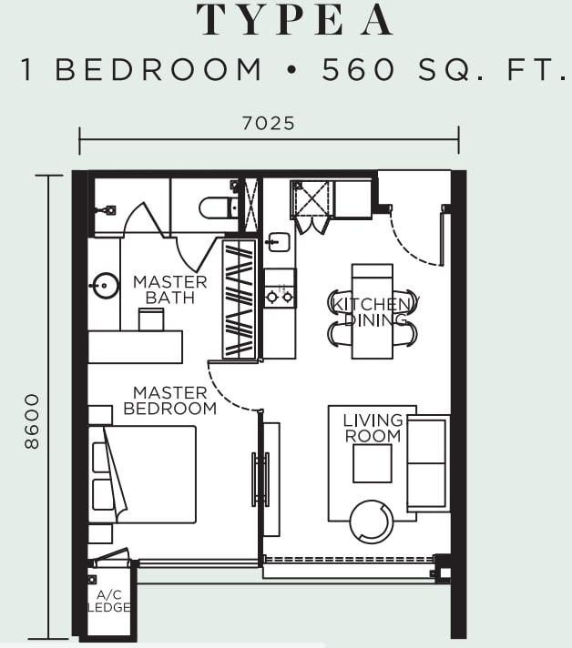 Avelia Ampang Floor Plan Type A