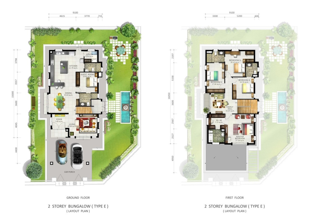 Botanica 5 Floor Plan Type E