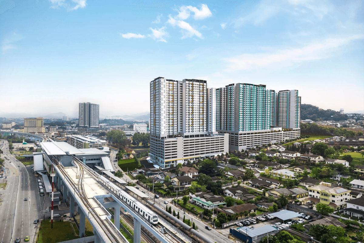 Nexus @ Kajang Station Tower C Aerial