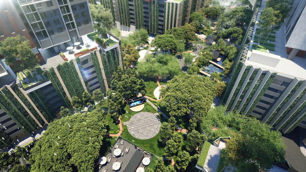GrenePark Village Aerial View