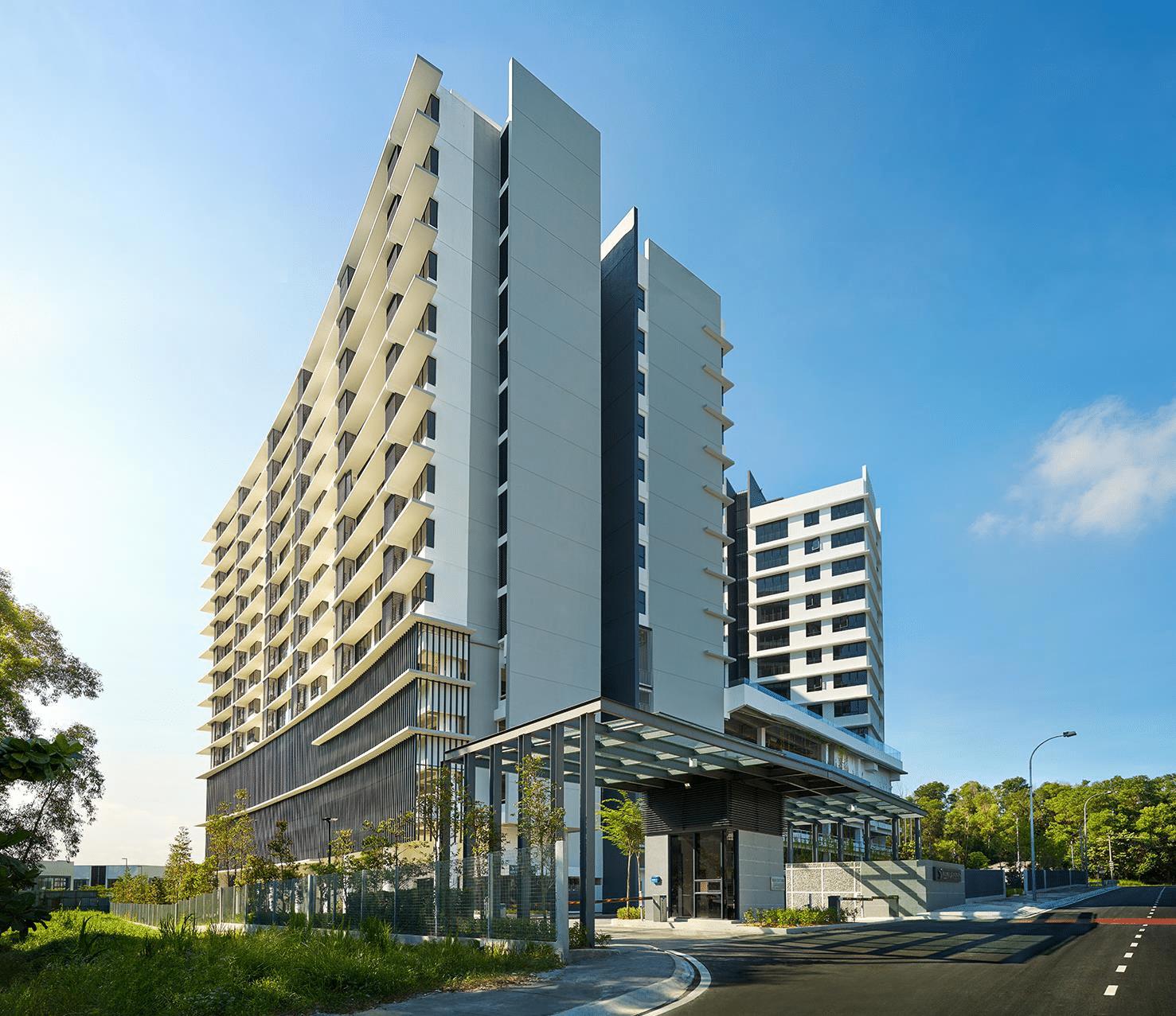 Renai Jelutong Residences Facade