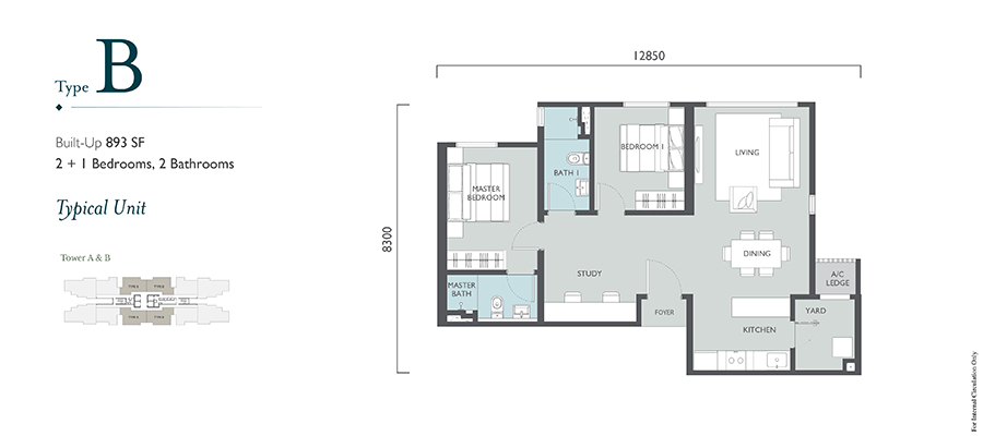 Emerald Hills Floor Plan Type B