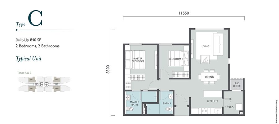 Emerald Hills Floor Plan Type C