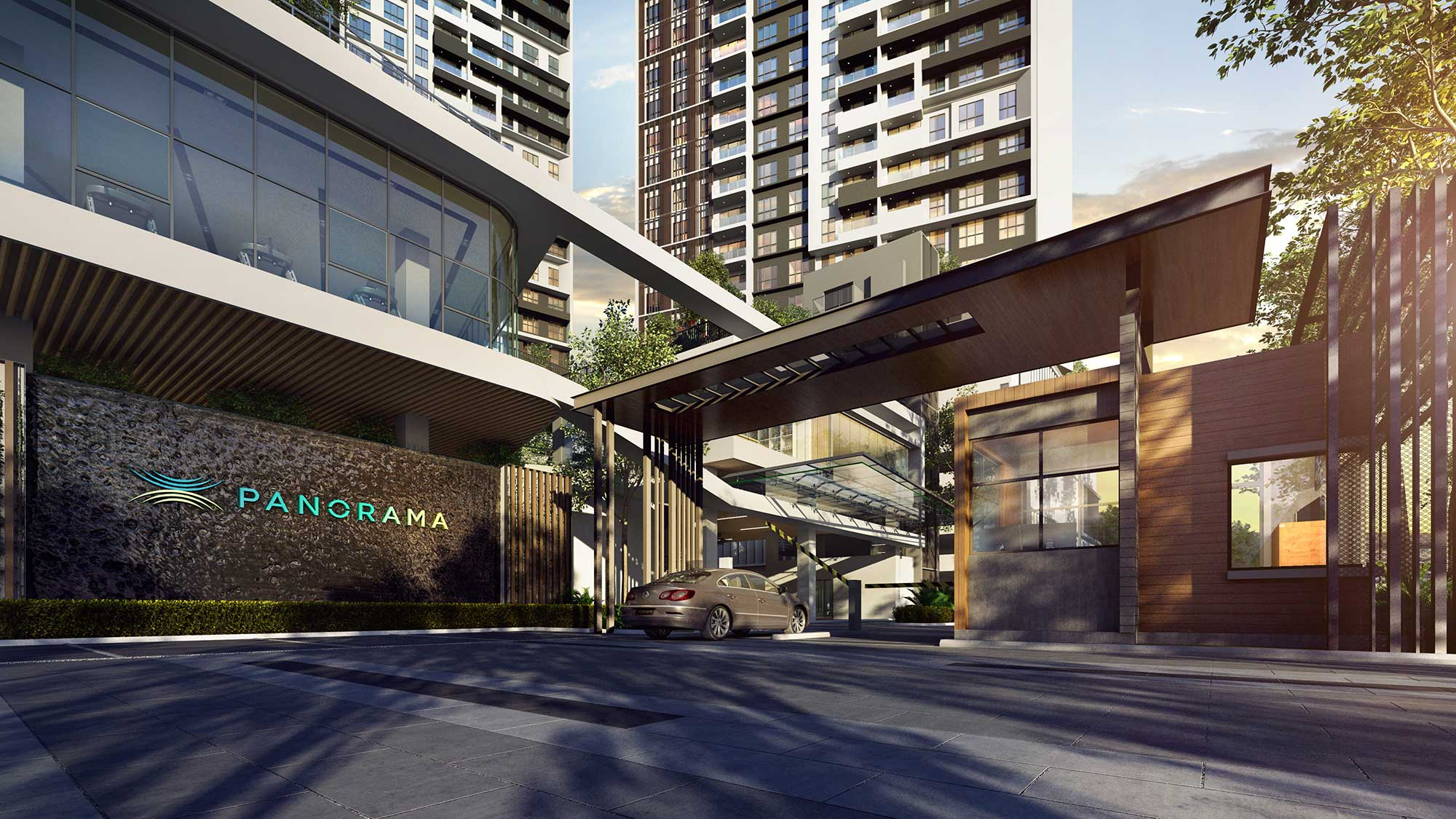 Rumah Panorama Residences Guard
